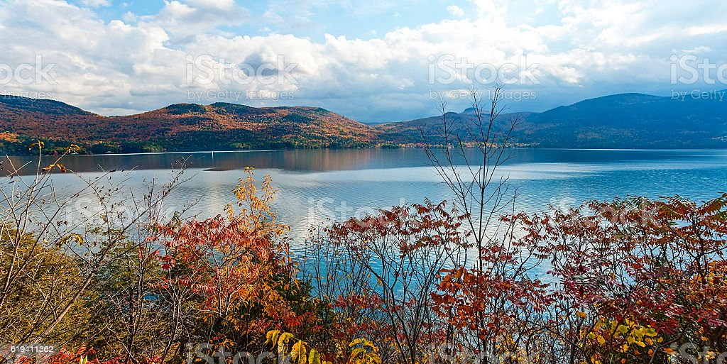 Autumn in New York stock photo
