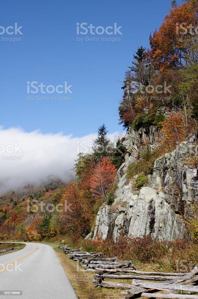 Autumn in North Carolina royalty-free stock photo