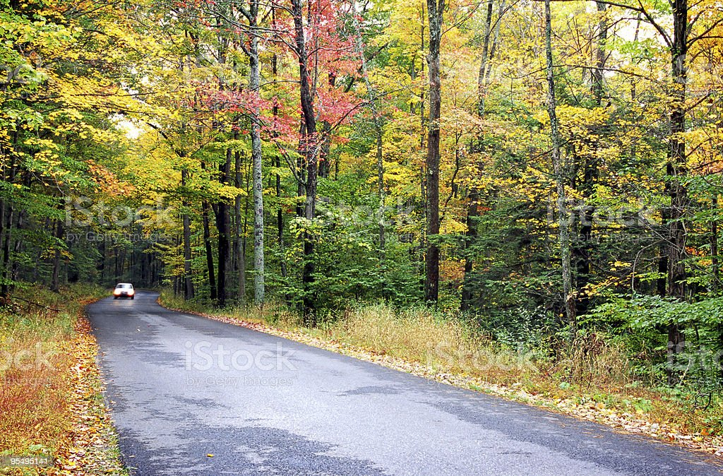 Autumn in Pennsylvania stock photo