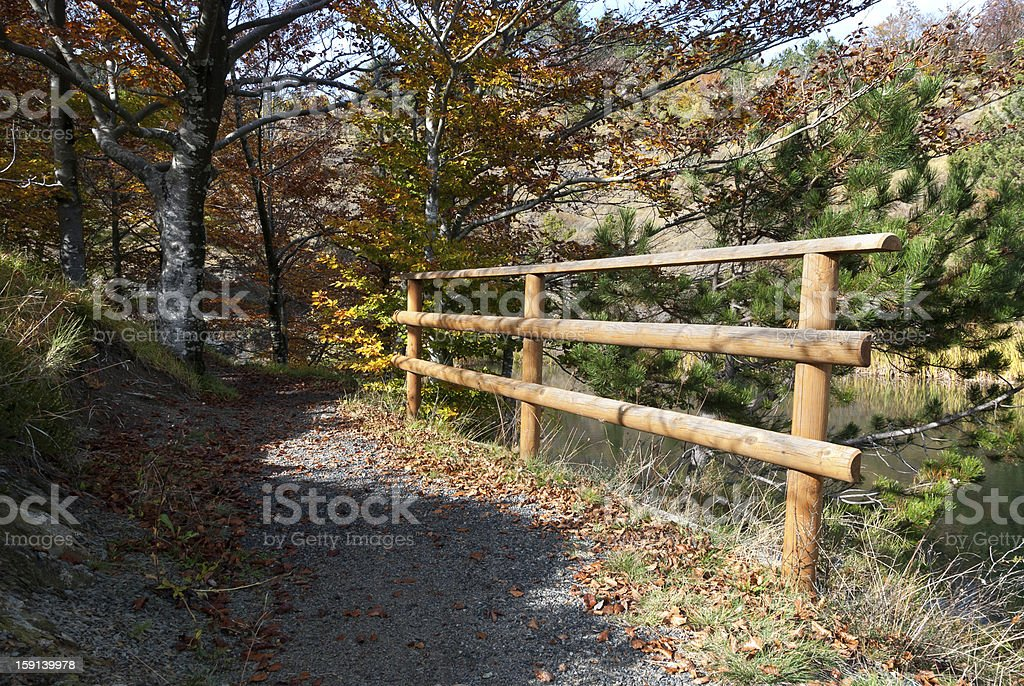 autumn in the countryside royalty-free stock photo
