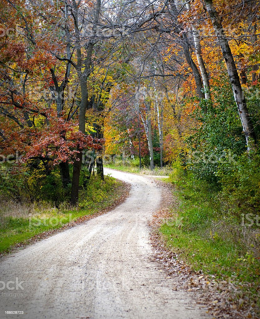 Autumn in the Midwest royalty-free stock photo