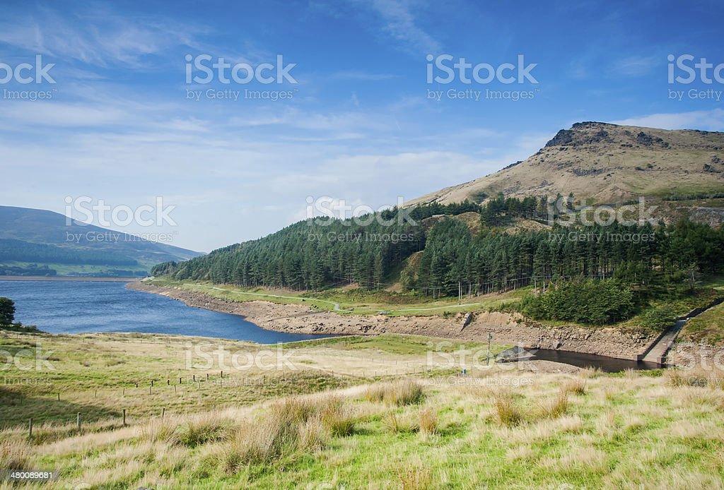 autumn in the peak district stock photo