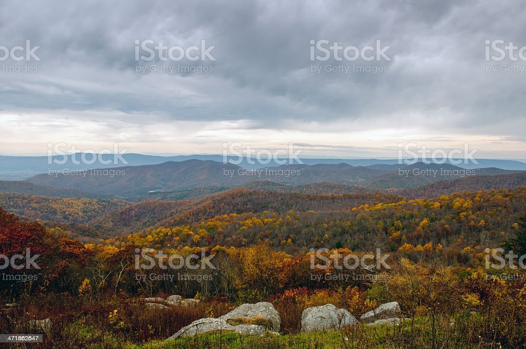Autumn in Virginia stock photo