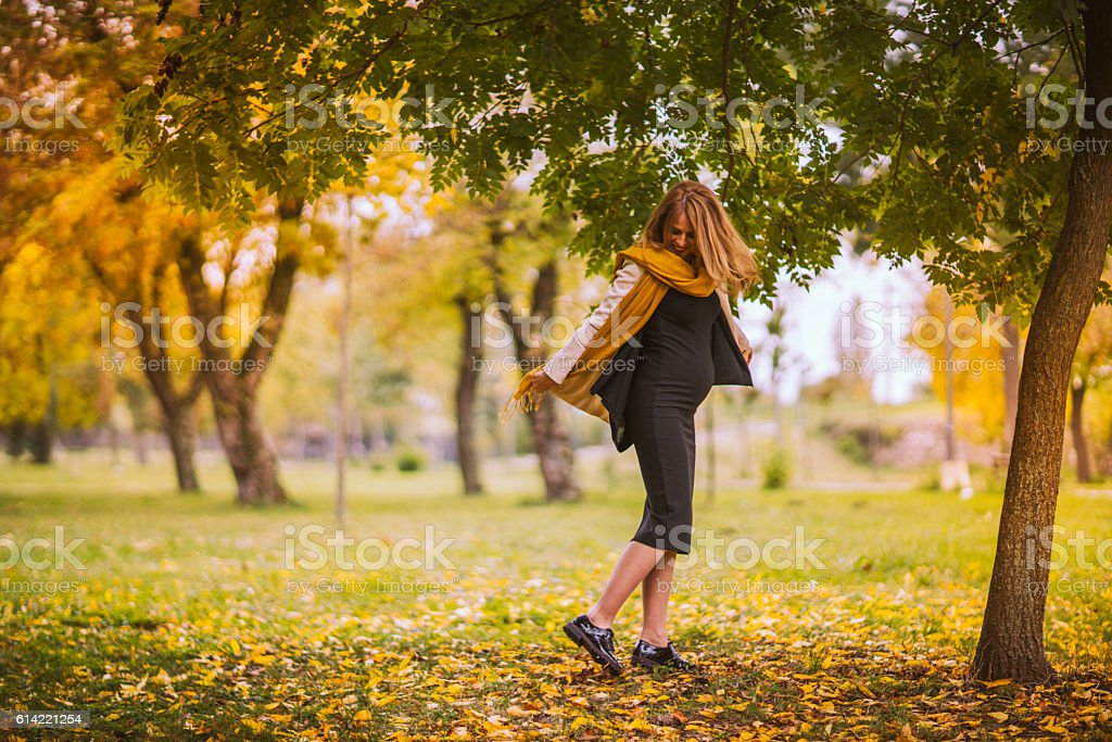 Autumn is finaly here stock photo