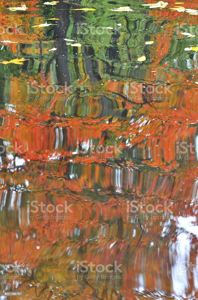 Outono Lago foto de stock royalty-free