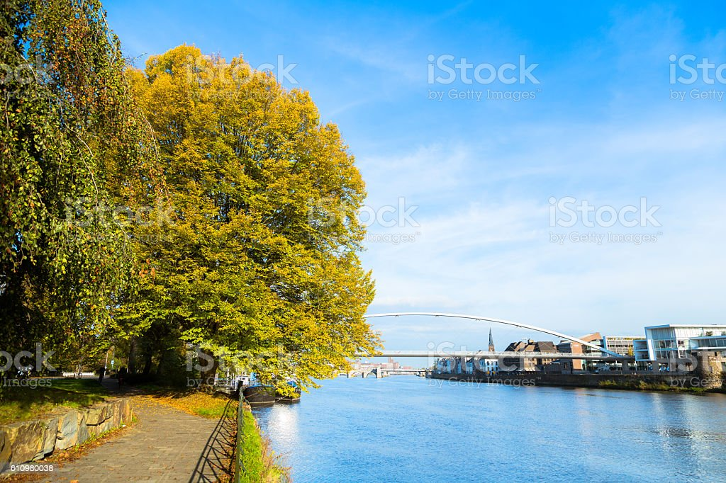 Autumn Landmark in Maastricht stock photo