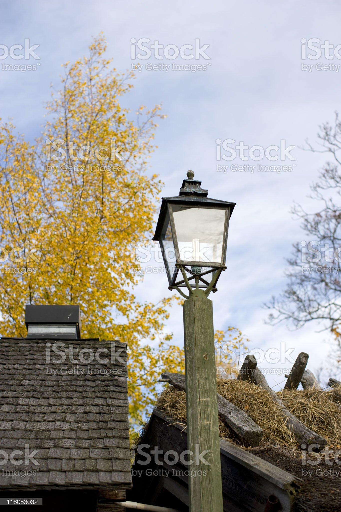 Autumn light royalty-free stock photo