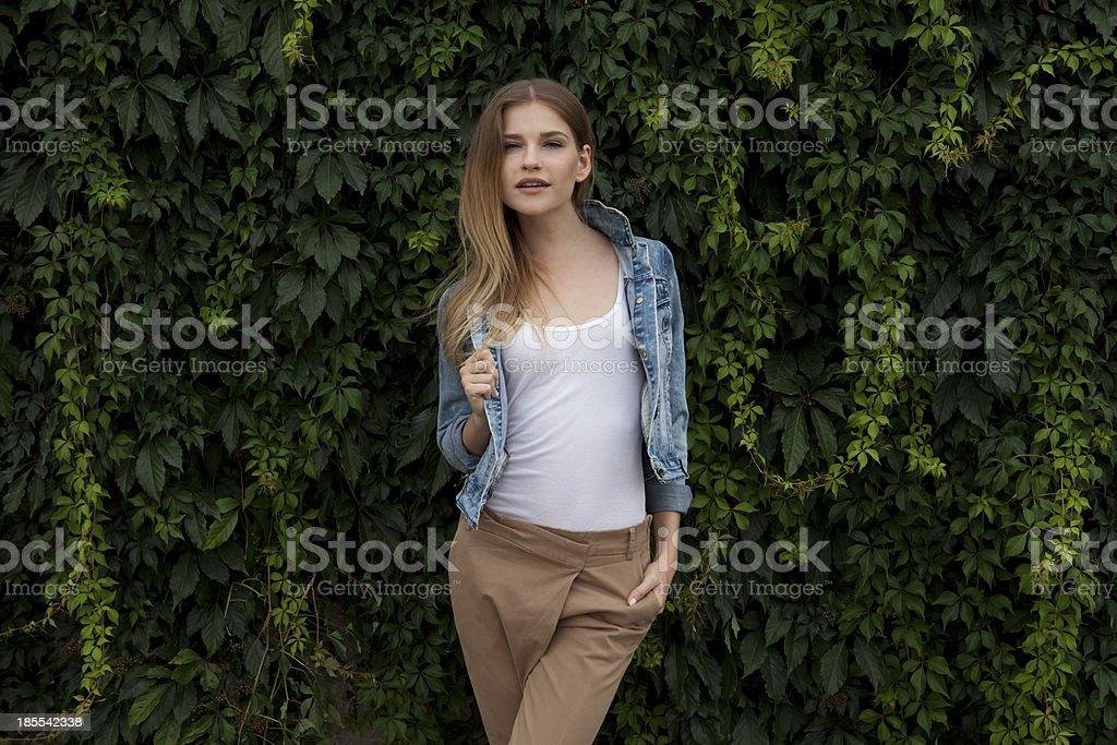 autumn look stock photo
