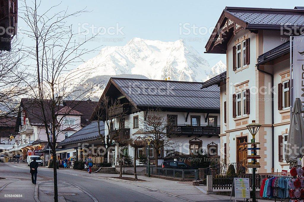 Autumn Mayrhofen stock photo