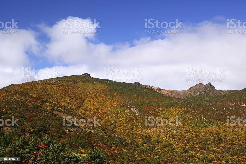 Autumn mountain royalty-free stock photo