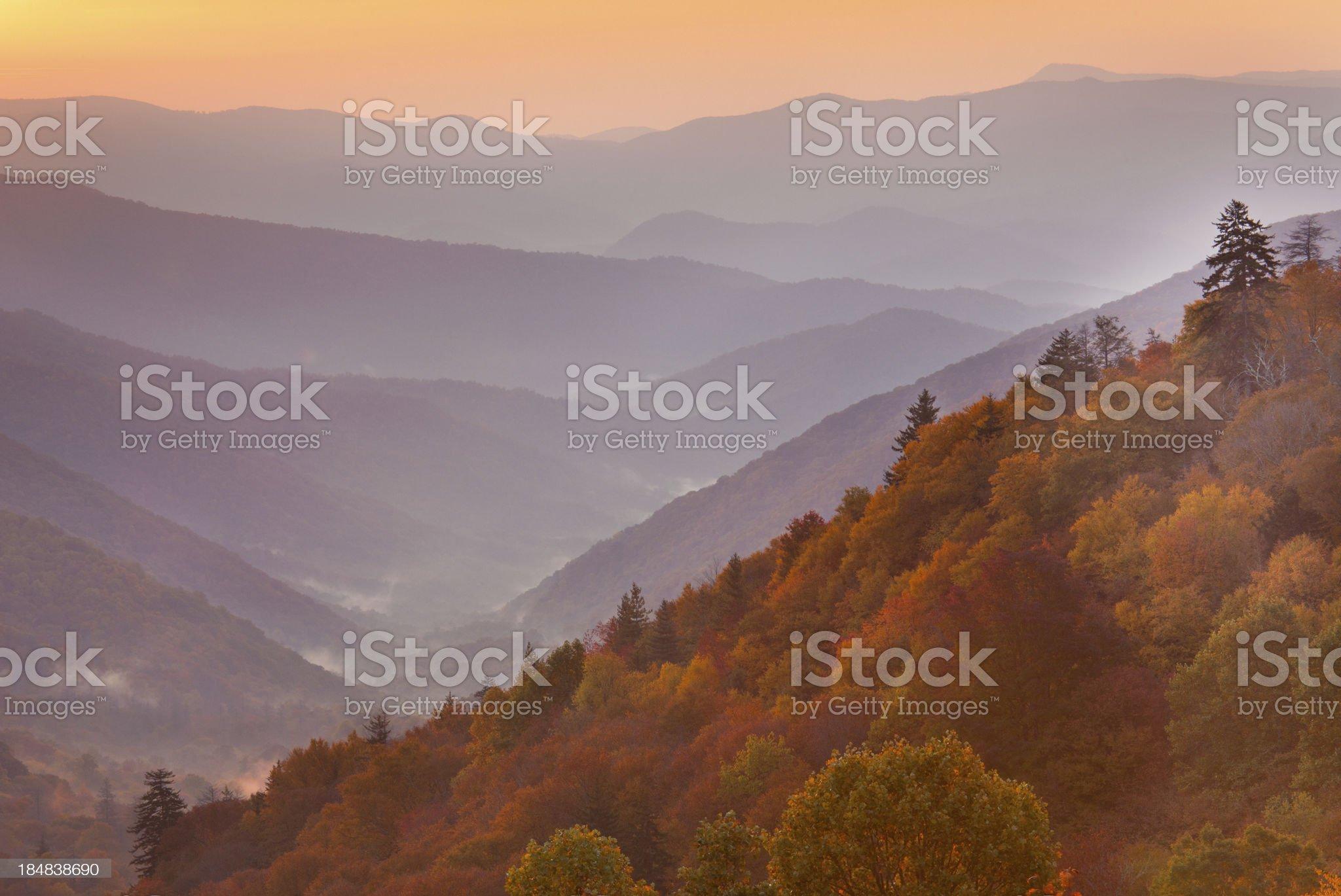 Autumn Mountains royalty-free stock photo