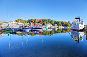 Autumn on Lake Sunapee New Hampshire