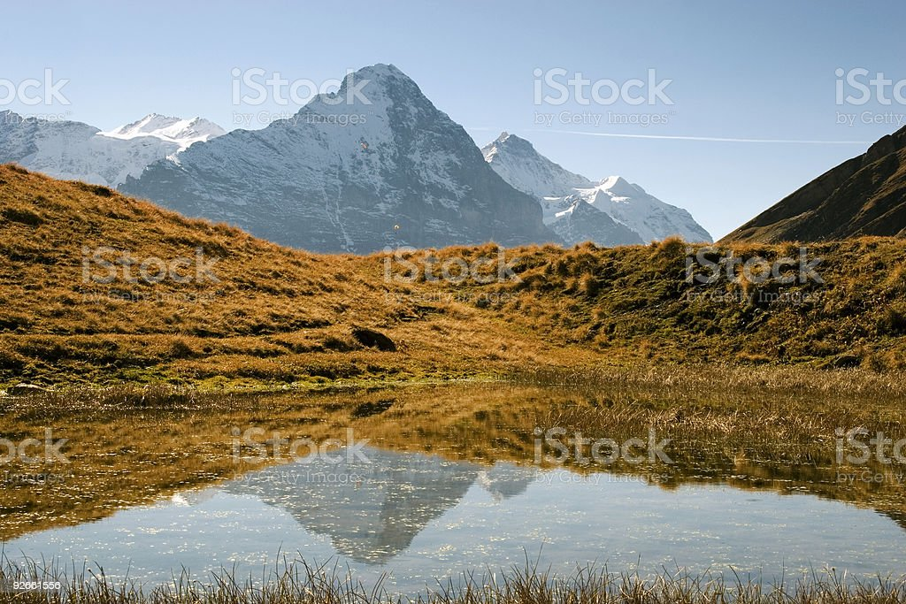 Autumn on the First royalty-free stock photo