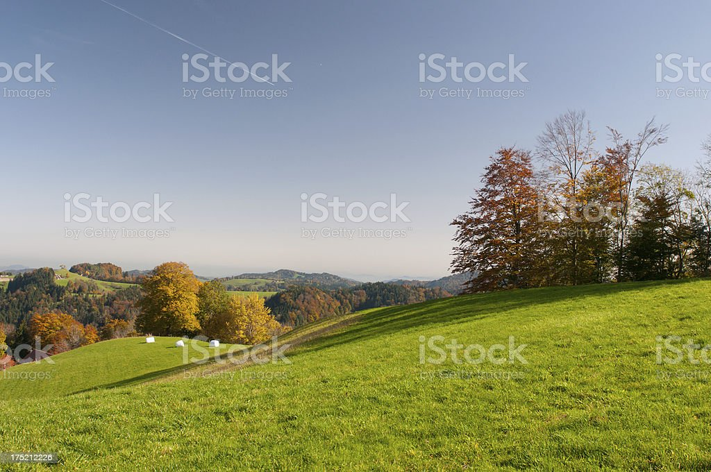 Autumn on the Sternenberg stock photo