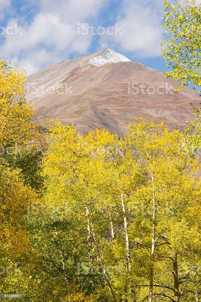 Autumn Peak stock photo