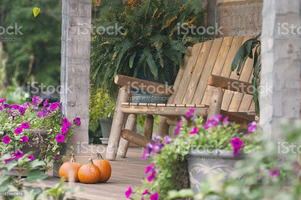 #2, Autumn Porch Series royalty-free stock photo