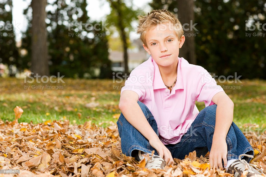 Autumn Portrait royalty-free stock photo