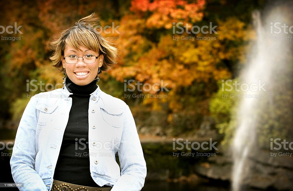 autumn portraits royalty-free stock photo