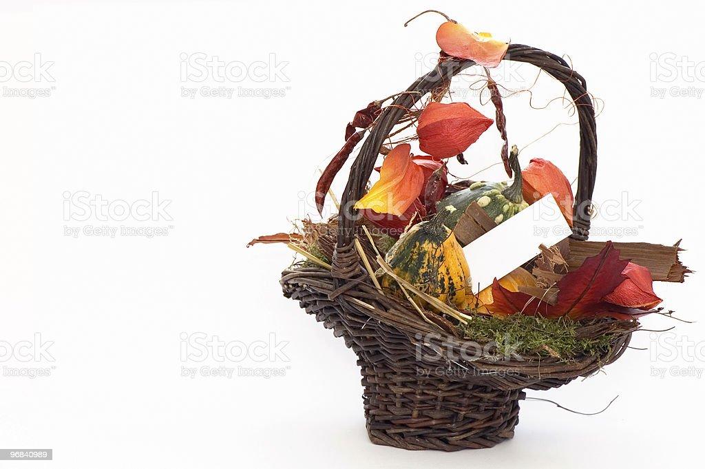 Autumn Present royalty-free stock photo