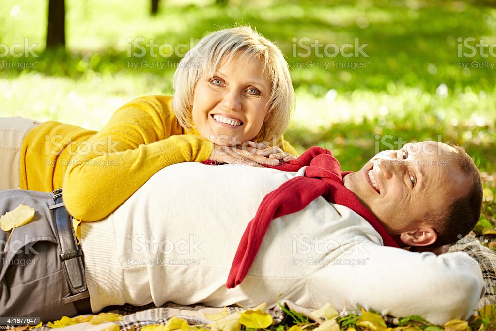 Autumn relaxation royalty-free stock photo