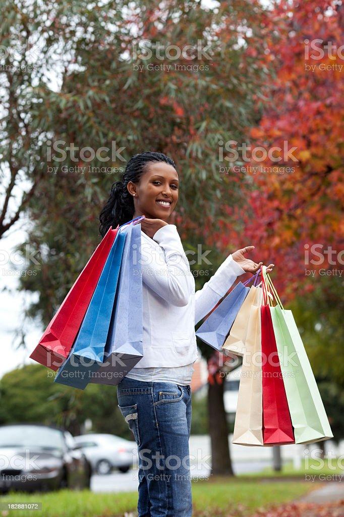 Autumn sales. royalty-free stock photo