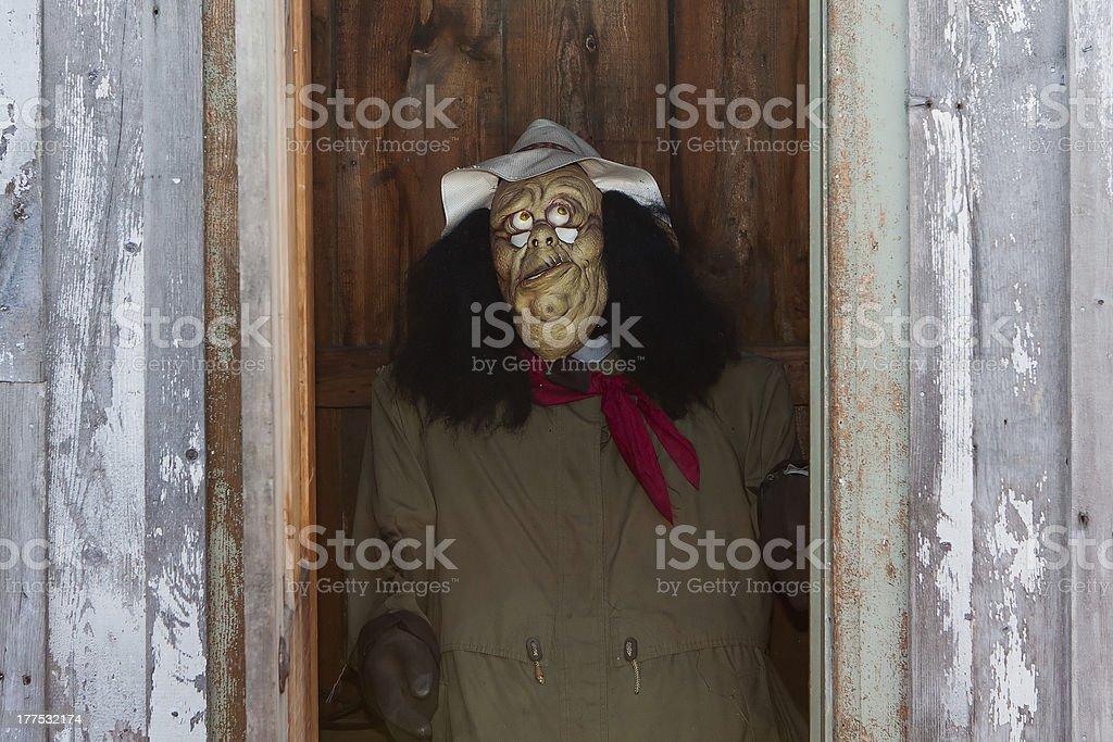 Autumn Scarecrow royalty-free stock photo