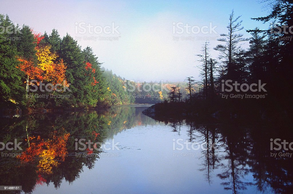 Autumn Scenic stock photo