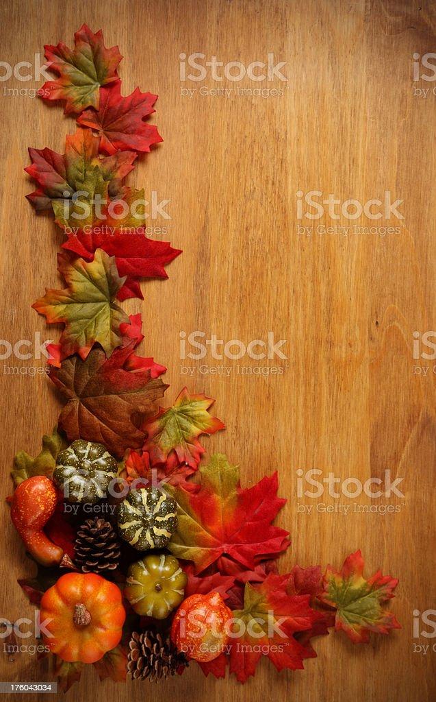 Autumn setting royalty-free stock photo