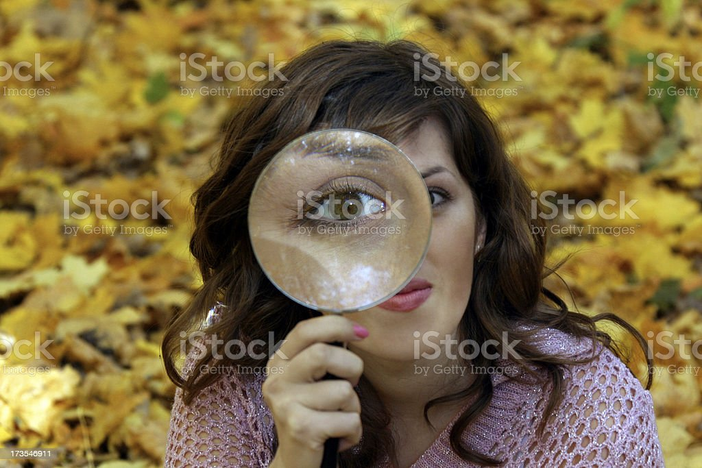 Autumn sight royalty-free stock photo