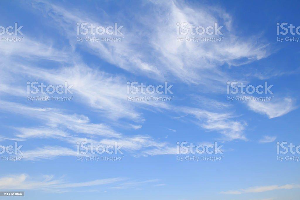 autumn sky stock photo