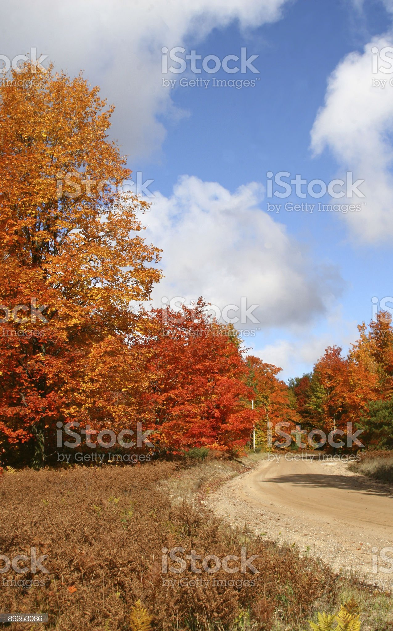 autumn sky royalty-free stock photo