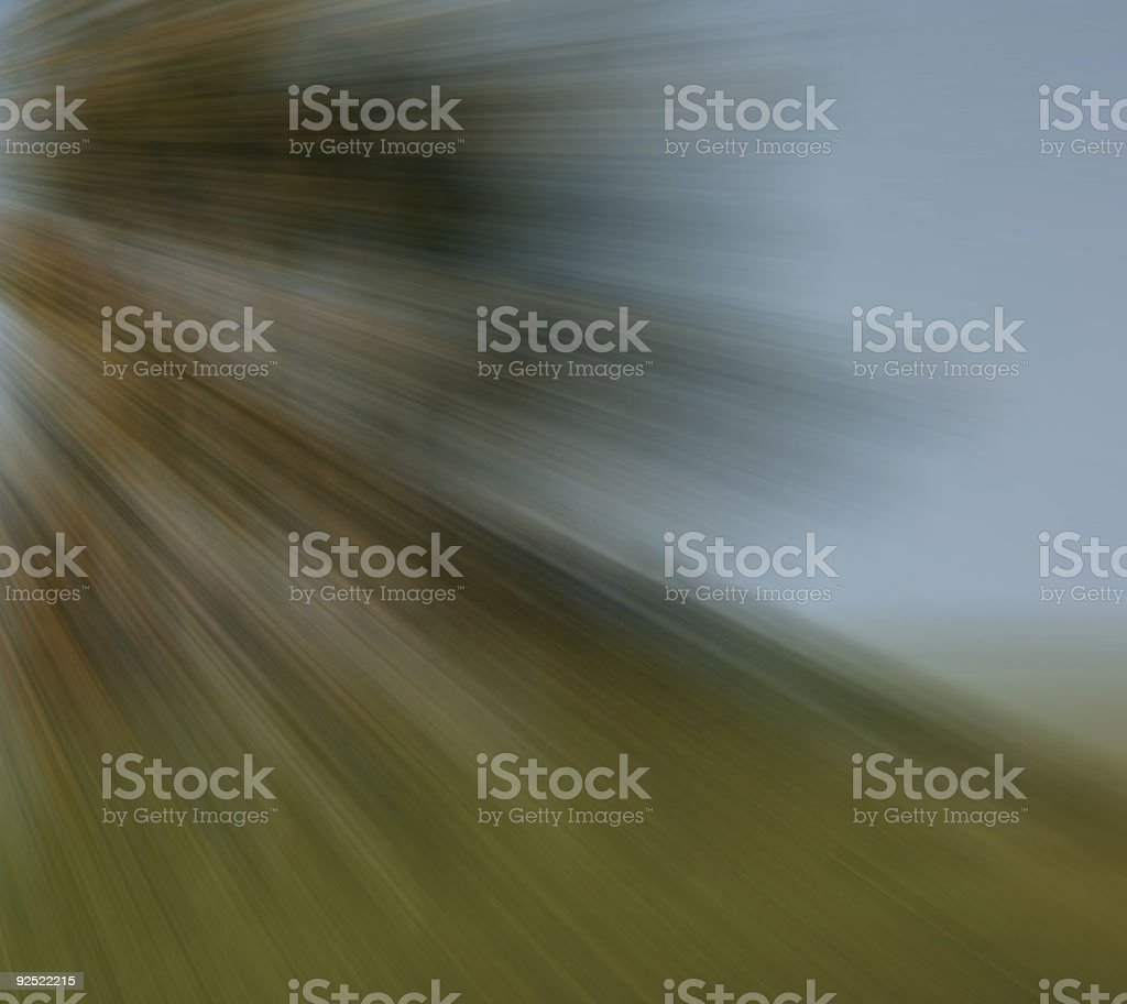 Autumn speed royalty-free stock photo