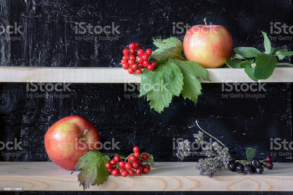 Outono ainda vida. foto de stock royalty-free