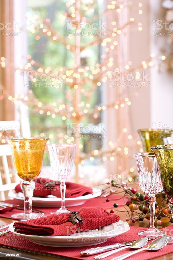 Autumn Table (XXL) royalty-free stock photo