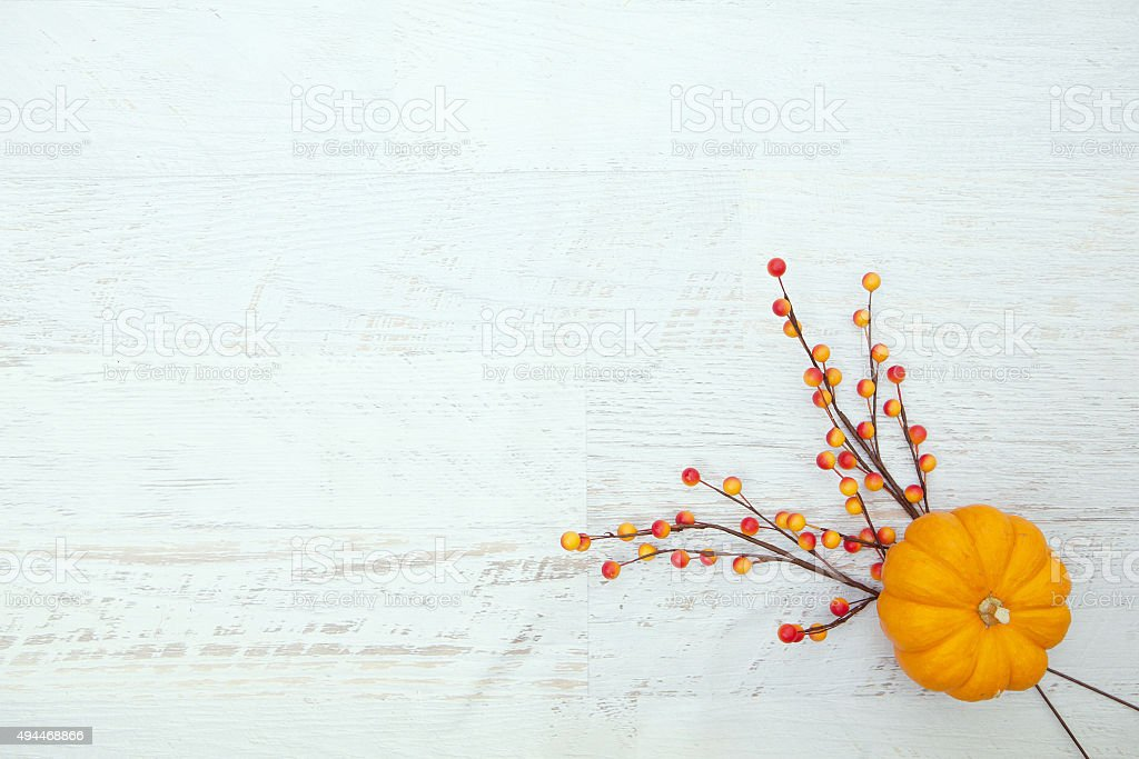 Autumn Thanksgiving Background stock photo