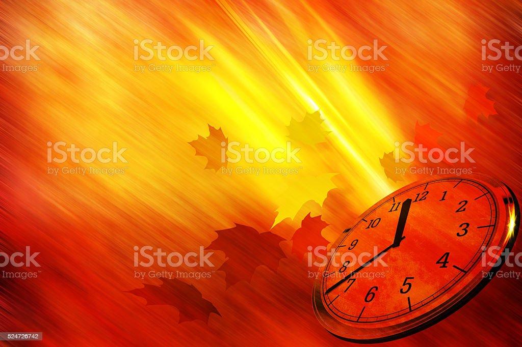 Autumn time background stock photo