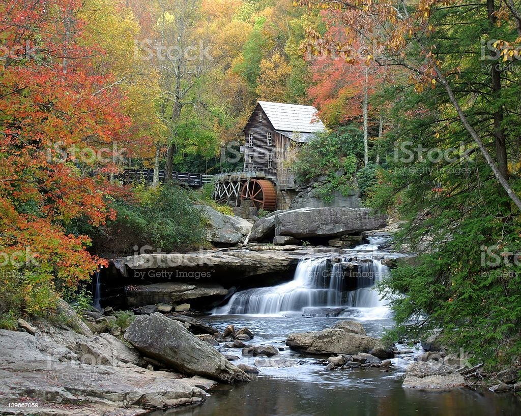 Autumn Tranquility stock photo
