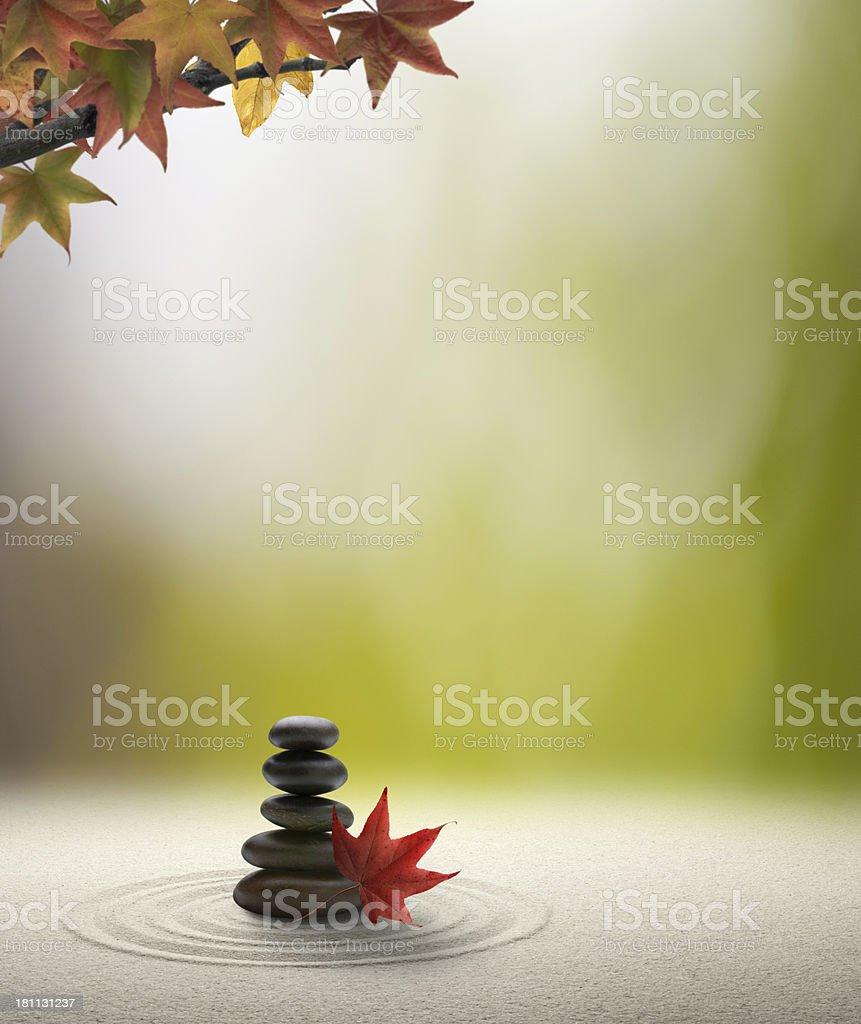 Autumn Tranquility royalty-free stock photo
