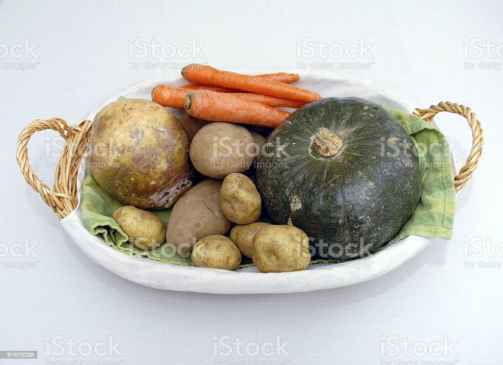 Autumn veggies royalty-free stock photo