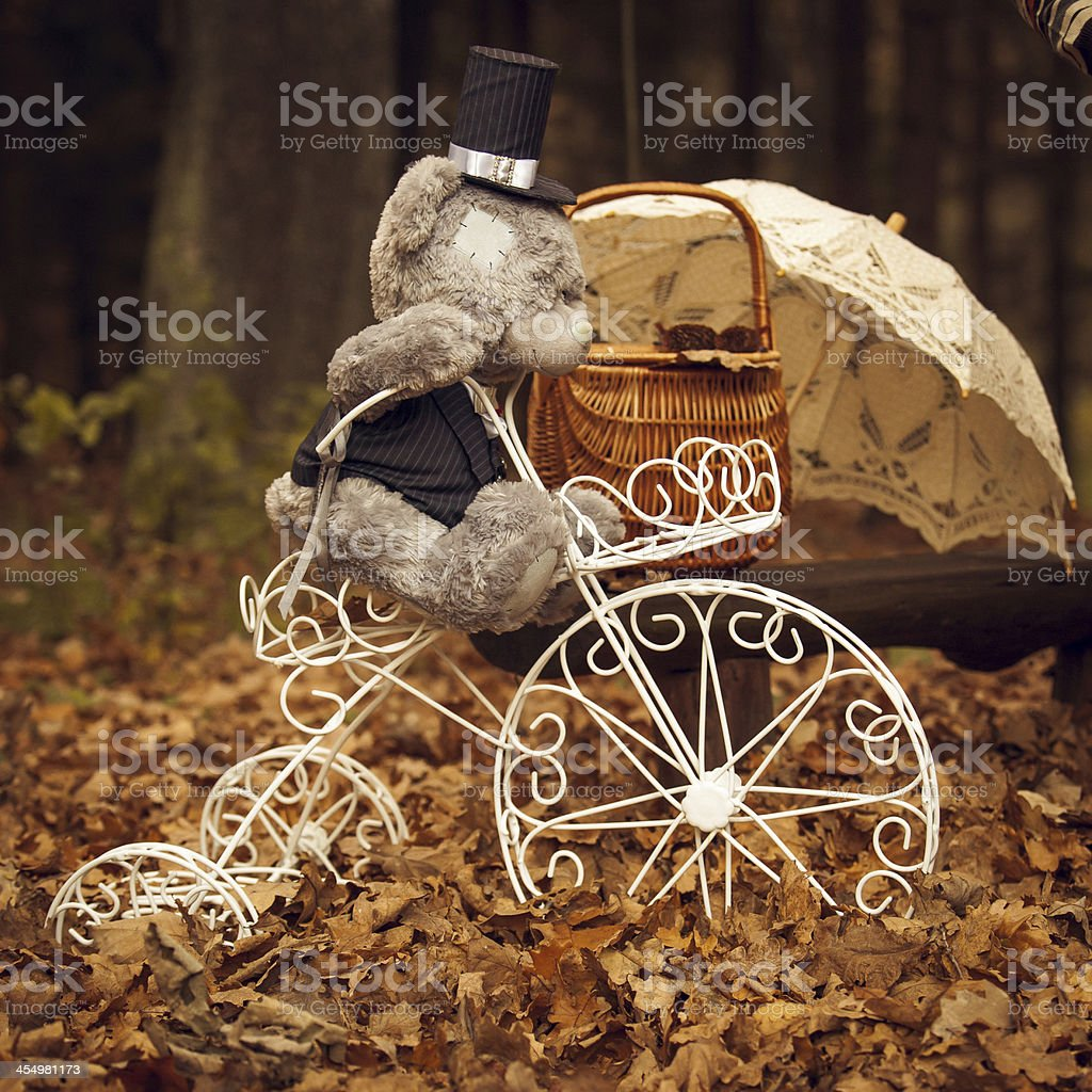 Herbst-Picknick Lizenzfreies stock-foto