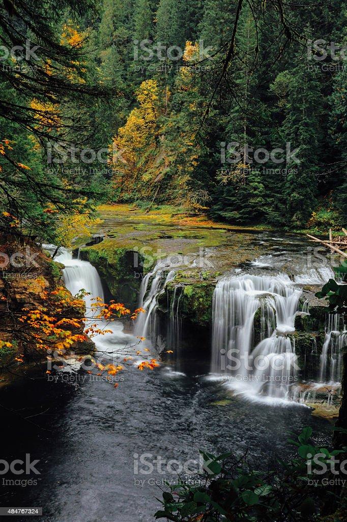 Autumn Waterfalls stock photo