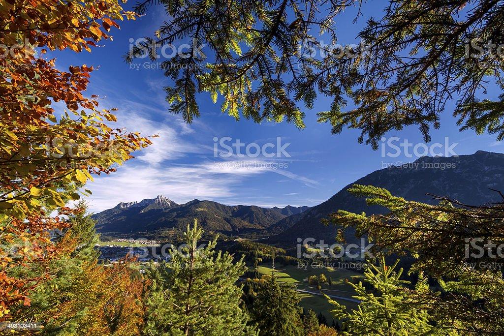 autumn window royalty-free stock photo