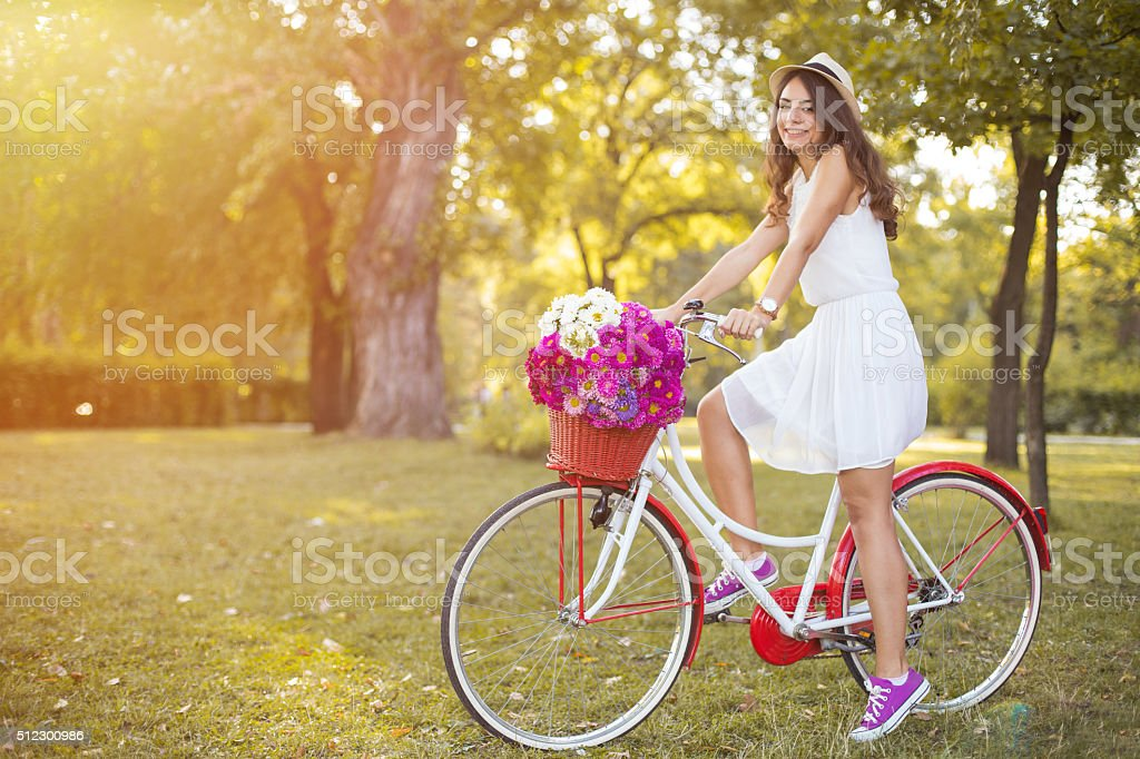 Autumn with spring colors stock photo