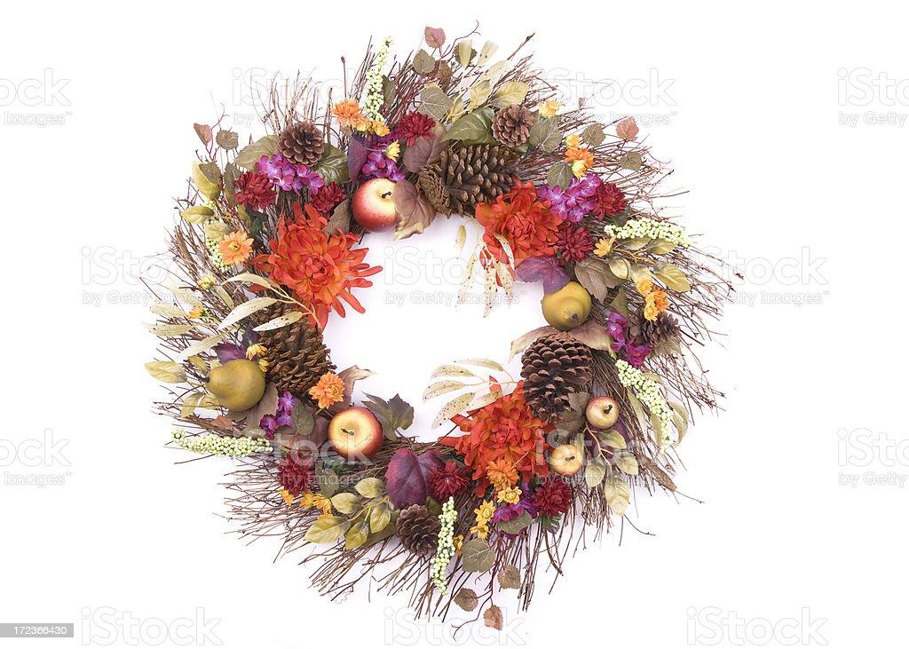 Autumn Wreath (XL) royalty-free stock photo