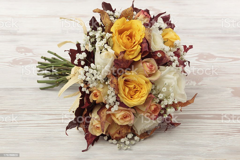 Autumnal bouquet royalty-free stock photo