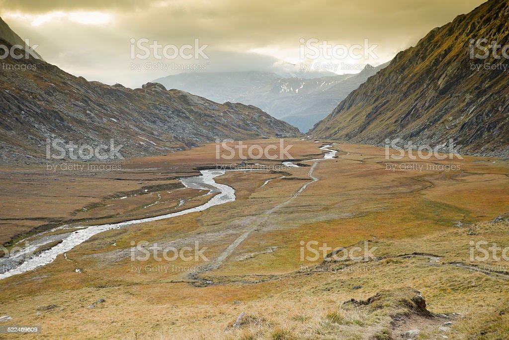 Autumnal scenes stock photo