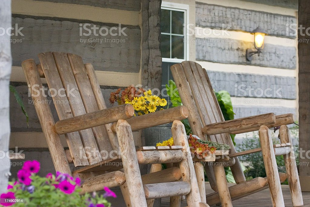 #1, AutumnPorch Series royalty-free stock photo