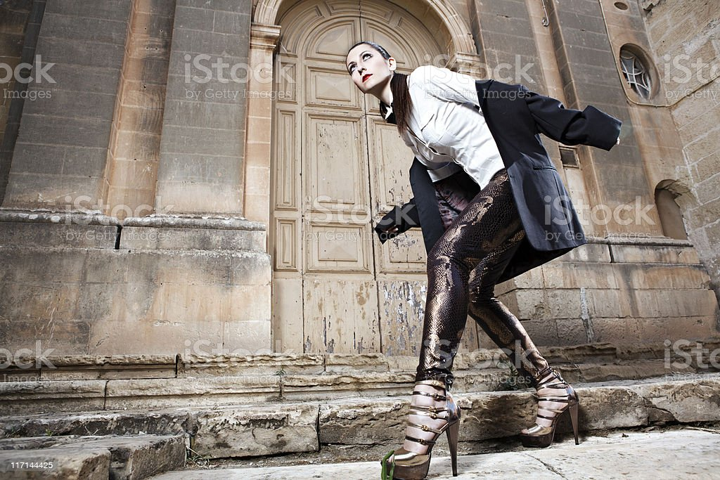 Autumn/Winter 2011 fashion trends stock photo