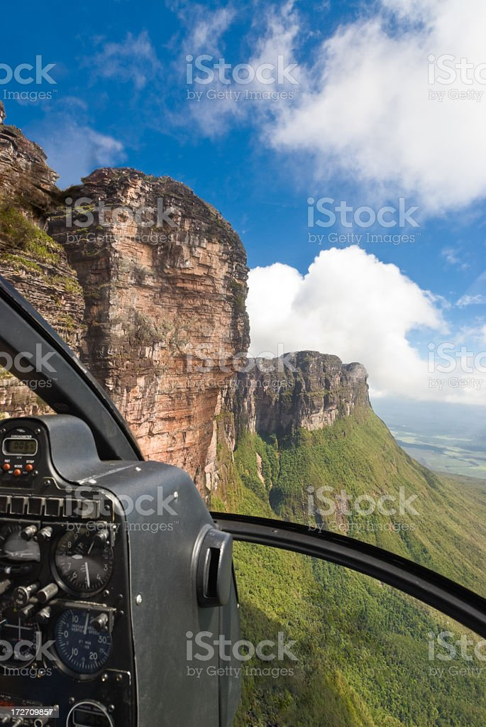 Auyantepuy table top mountain royalty-free stock photo