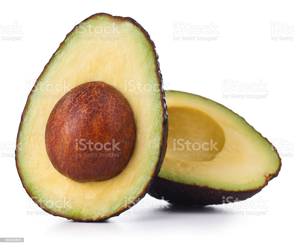 Avacado Isolated stock photo